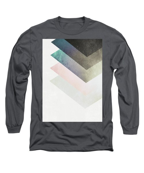 Geometric Layers Long Sleeve T-Shirt