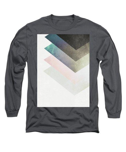Geometric Layers Long Sleeve T-Shirt