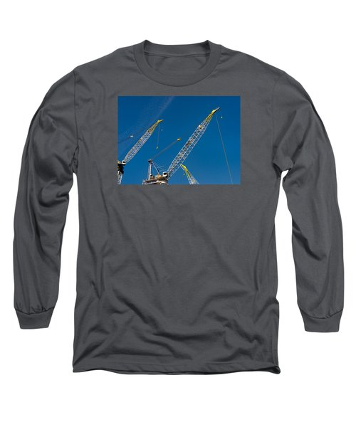 Geometry Of The Carnes Long Sleeve T-Shirt by Gary Slawsky