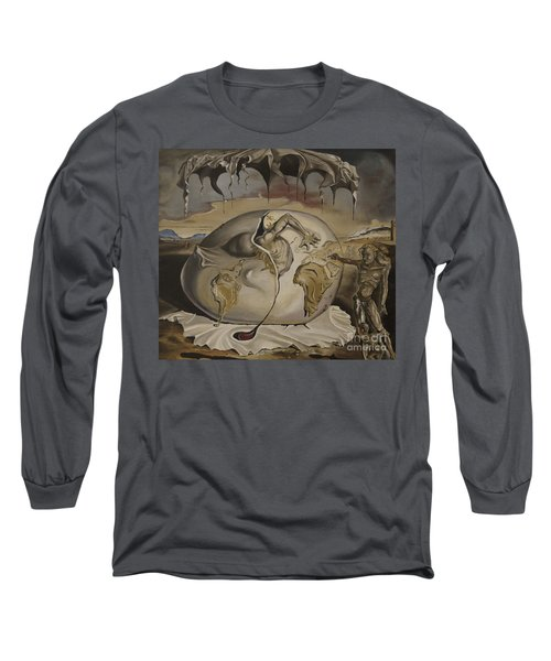 Dali's Geopolitical Child Long Sleeve T-Shirt