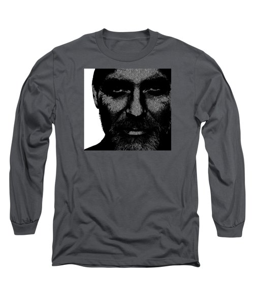 George Clooney 2 Long Sleeve T-Shirt by Emme Pons