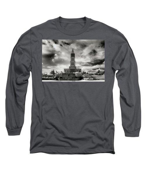 George Washinton Masonic Memorial Long Sleeve T-Shirt by Paul Seymour