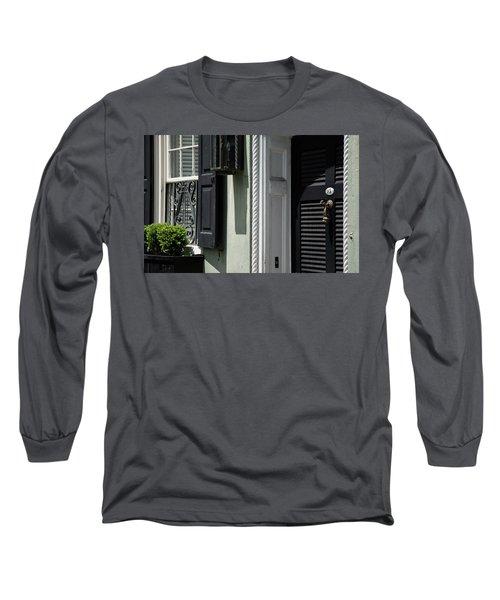 Georgian Gem Long Sleeve T-Shirt by Ed Waldrop
