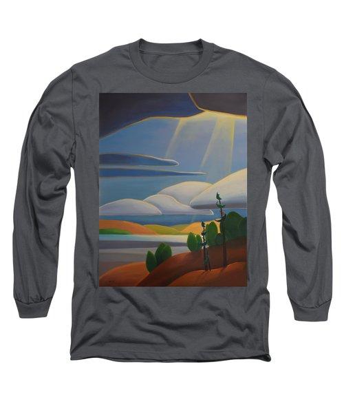 Georgian Shores - Left Panel Long Sleeve T-Shirt