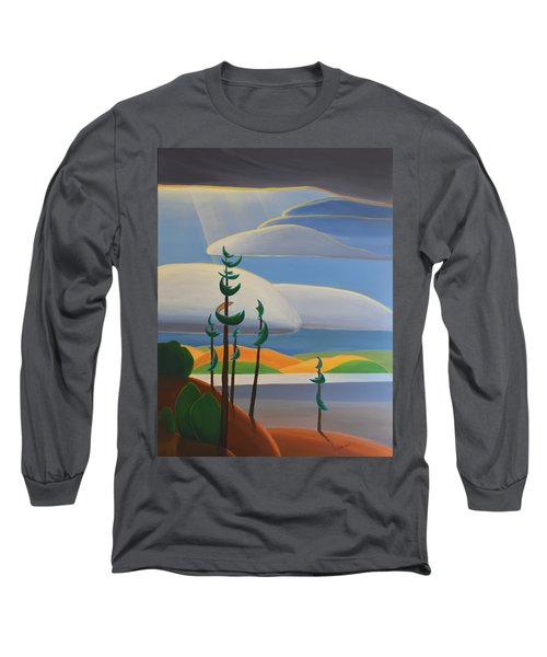 Georgian Shores - Right Panel Long Sleeve T-Shirt