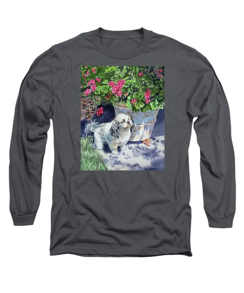 Georgie Long Sleeve T-Shirt by Irina Sztukowski
