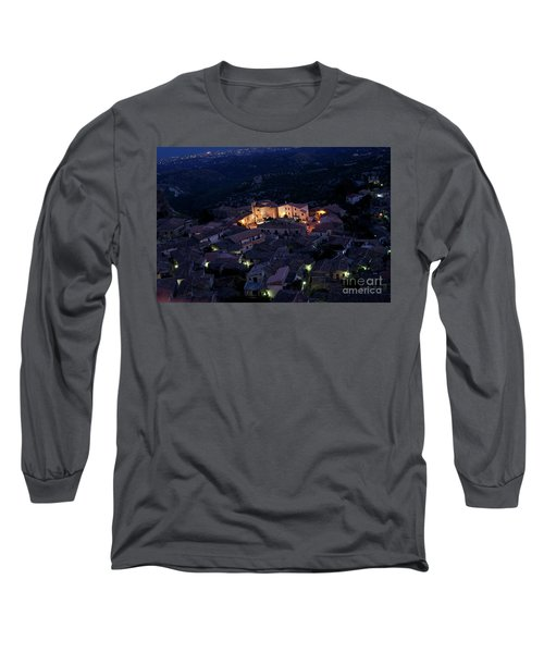 Long Sleeve T-Shirt featuring the photograph Gerace by Bruno Spagnolo