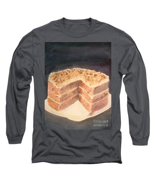 German Chocolate Cake Long Sleeve T-Shirt