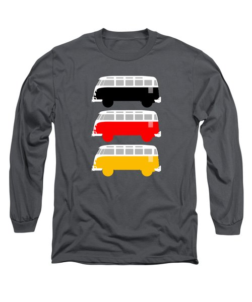 German Icon - Vw T1 Samba Long Sleeve T-Shirt