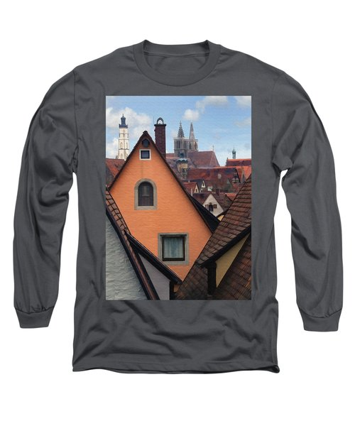 German Rooftops Long Sleeve T-Shirt