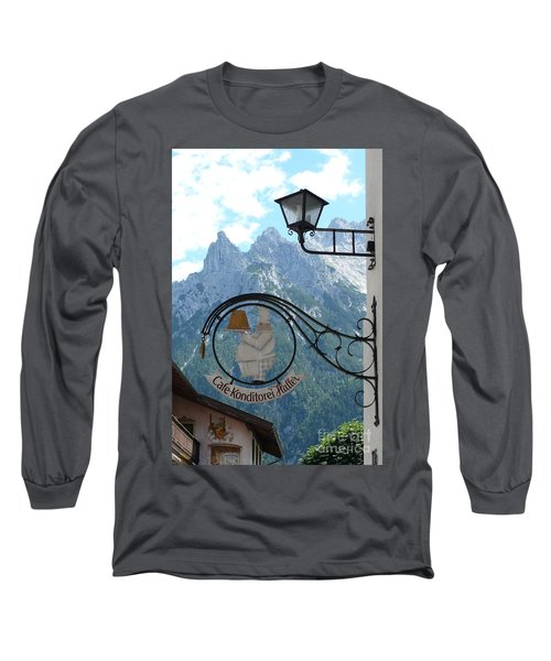Germany - Cafe Sign Long Sleeve T-Shirt