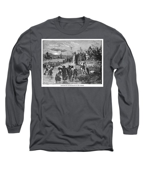 Germany, Weser River Baptism.  Long Sleeve T-Shirt