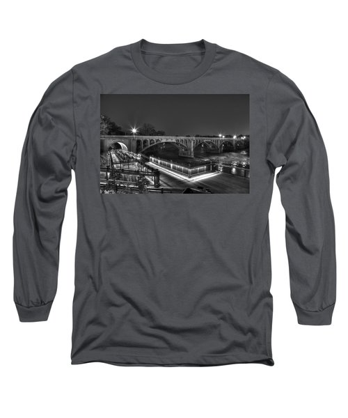 Gervais Street B-w Long Sleeve T-Shirt