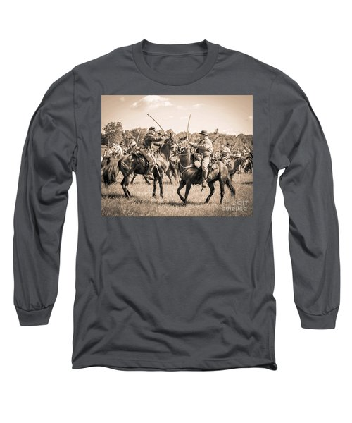 Gettysburg Cavalry Battle 7978s  Long Sleeve T-Shirt
