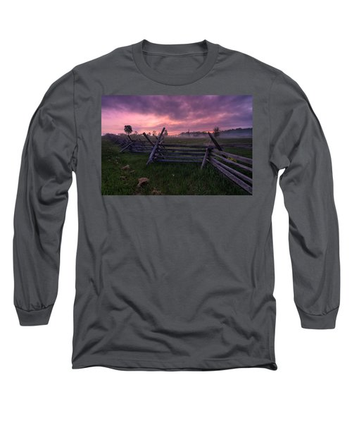 Gettysburg Mornings... Long Sleeve T-Shirt