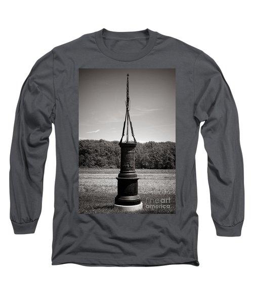 Gettysburg National Park 56th Pennsylvania Infantry Monument Long Sleeve T-Shirt