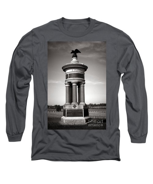 Gettysburg National Park 71st And 72nd New York Infantry Monument Long Sleeve T-Shirt