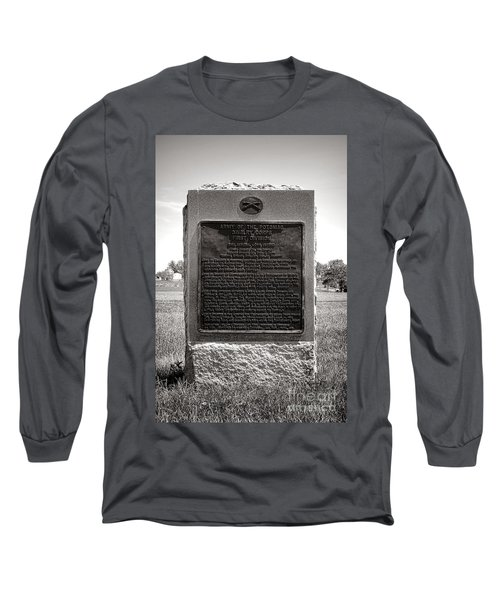 Gettysburg National Park Army Of The Potomac Cavalry Corps Monument Long Sleeve T-Shirt