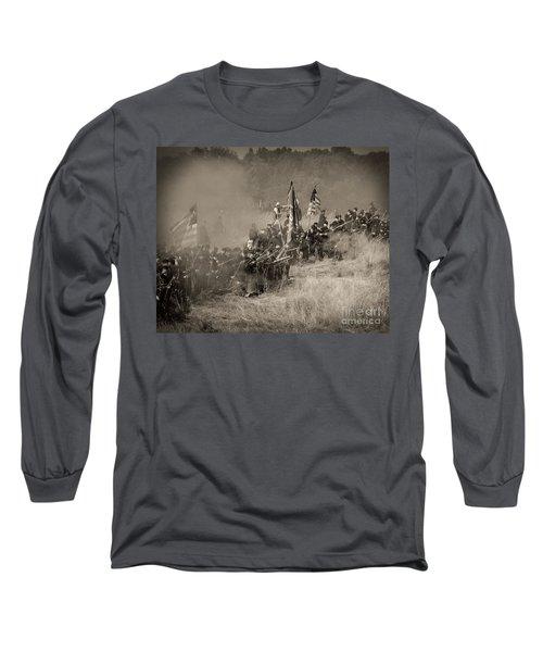 Gettysburg Union Infantry 8947s Long Sleeve T-Shirt