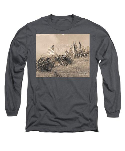 Gettysburg Union Infantry 8948s Long Sleeve T-Shirt