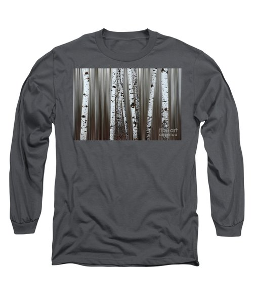 Long Sleeve T-Shirt featuring the photograph Ghost Forest 1 by Bob Christopher