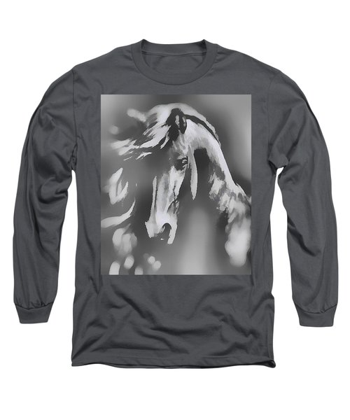 Ghost Horse Long Sleeve T-Shirt