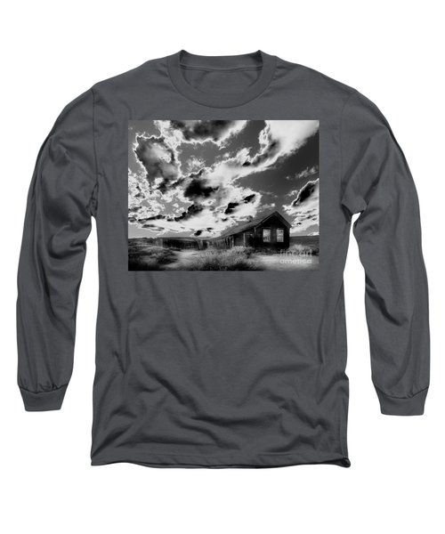 Long Sleeve T-Shirt featuring the photograph Ghost House by Jim and Emily Bush