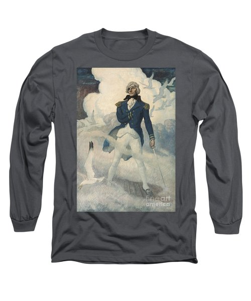 Ghost Of Admiral Nelson Long Sleeve T-Shirt