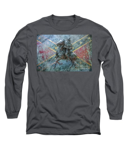 Ghost Of Gettysburg Verson Three Long Sleeve T-Shirt