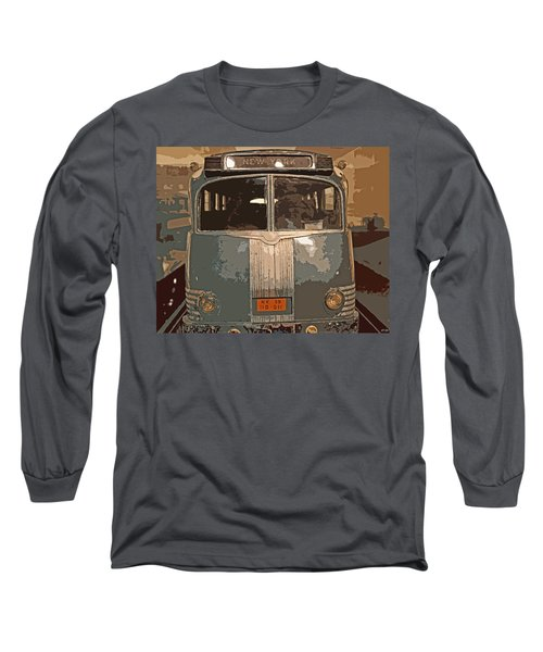 Ghost Of New York Long Sleeve T-Shirt