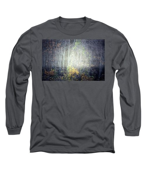 Long Sleeve T-Shirt featuring the photograph Ghosts Of The Forest 2 by Tara Turner