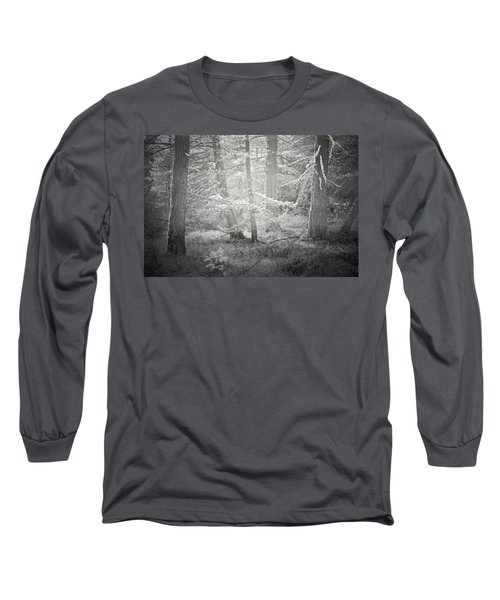 Long Sleeve T-Shirt featuring the photograph Ghosts Of The Forest 3 by Tara Turner