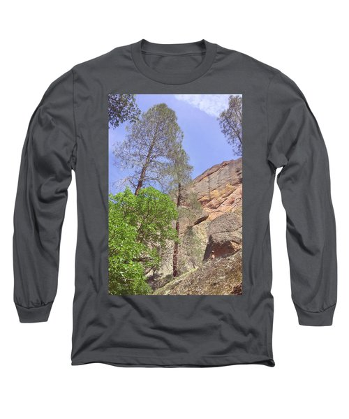 Long Sleeve T-Shirt featuring the photograph Giant Boulders by Art Block Collections