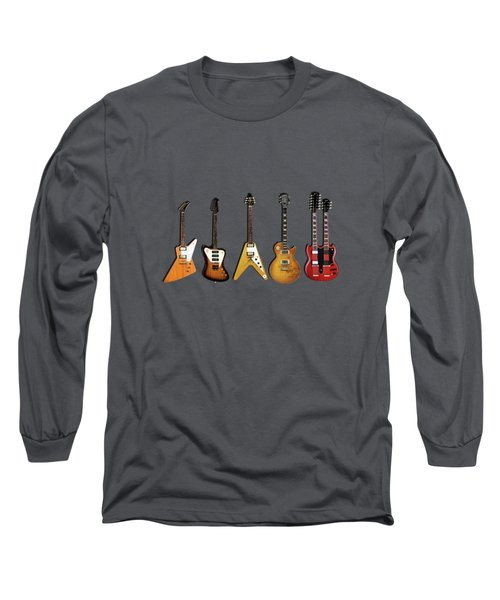 Gibson Electric Guitar Collection Long Sleeve T-Shirt