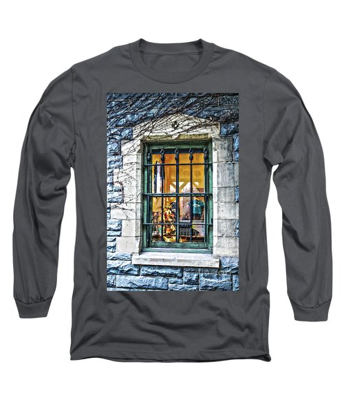 Gift Shop Window Long Sleeve T-Shirt