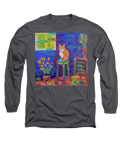Ginger The Cat Long Sleeve T-Shirt