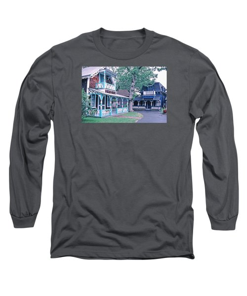 Gingerbread Houses Oak Bluff Martha's Vineyard Long Sleeve T-Shirt