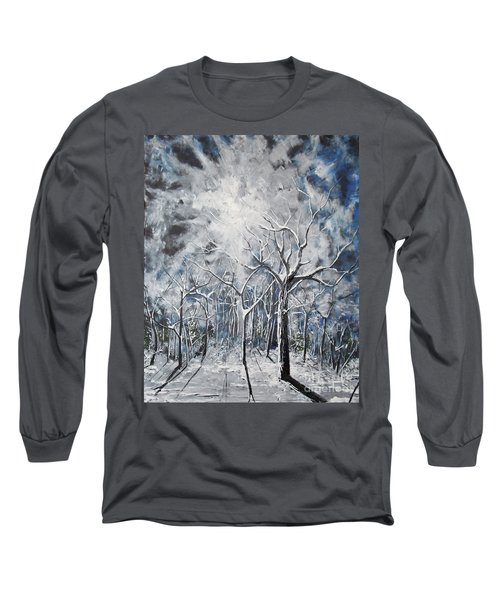 Girl In The Woods Long Sleeve T-Shirt