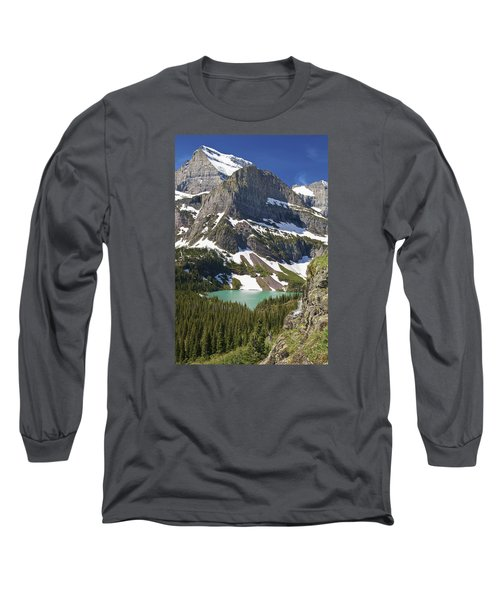 Glacier Backcountry Long Sleeve T-Shirt by Gary Lengyel