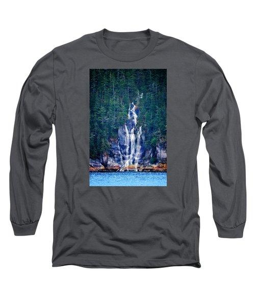 Glacier Falls 2 Long Sleeve T-Shirt by Brian Stevens