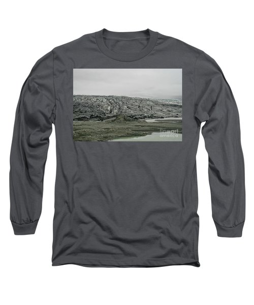 Glacier In Iceland Long Sleeve T-Shirt