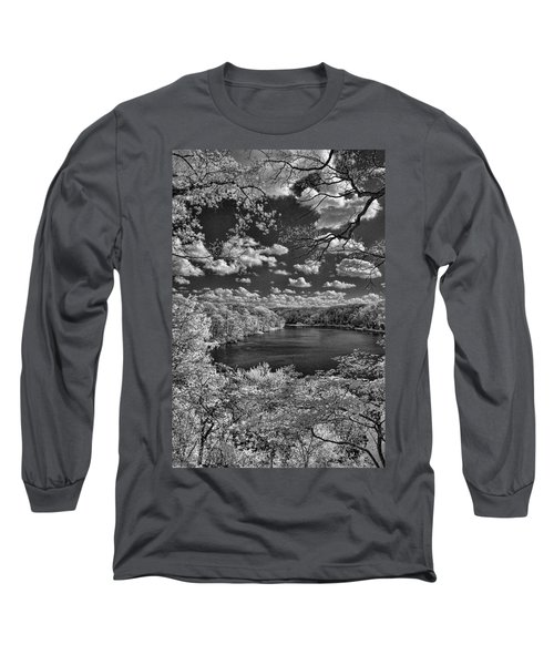 Glacier Lake Long Sleeve T-Shirt by Michael McGowan