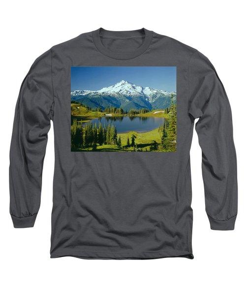 1m4422-glacier Peak, Wa  Long Sleeve T-Shirt