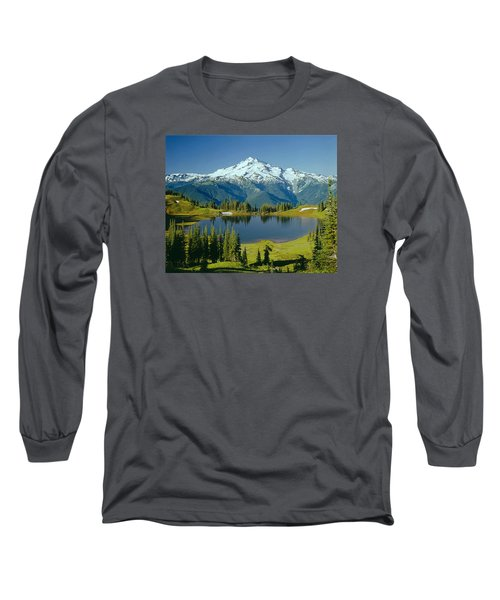 1m4422-glacier Peak, Wa  Long Sleeve T-Shirt