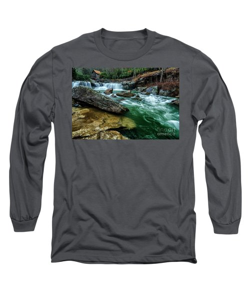 Glade Creek And Grist Mill Long Sleeve T-Shirt