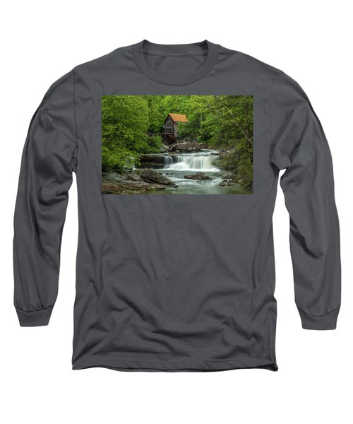 Glade Creek Grist Mill In May Long Sleeve T-Shirt