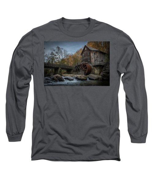 Glade Creek Water Wheel Long Sleeve T-Shirt
