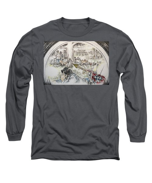 Glass Aftermath Long Sleeve T-Shirt by Scott and Dixie Wiley