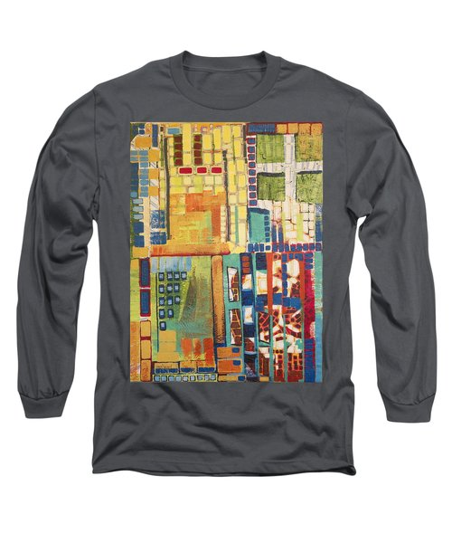 Long Sleeve T-Shirt featuring the painting Glass Bottom Boeing by Donna Howard