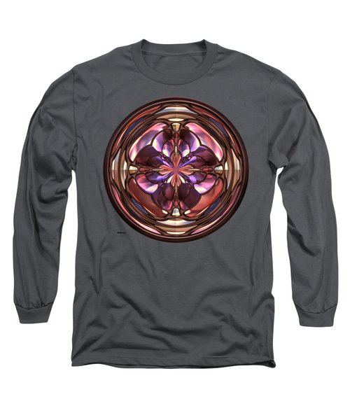 Glass Button 2 Long Sleeve T-Shirt by John M Bailey
